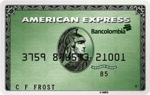Tarjeta American Express Verde