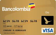 Tarjeta de credito bancolombia
