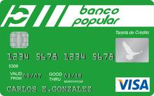 Tarjeta Visa Clasica Banco Popular